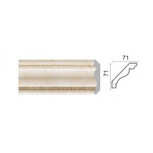 172-10 Карниз потолочный широкий (71x71x2400 мм) 14
