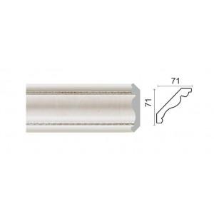172-7 Карниз потолочный широкий (71x71x2400 мм) 14