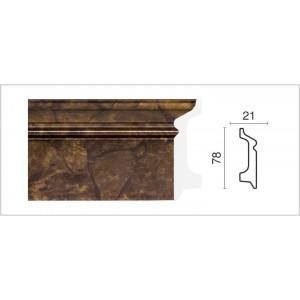 1221-0 Плинтус напольный широкий Декор  Дизайн в г. Екатеринбург