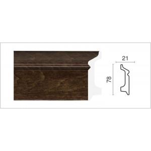 1221-3 Плинтус напольный широкий Декор  Дизайн в г. Екатеринбург