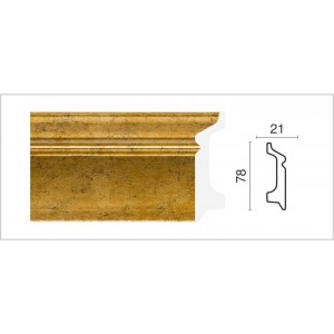 1221-552 Плинтус напольный широкий Декор  Дизайн в г. Екатеринбург