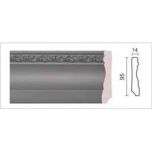 Плинтус напольный хай-тек153-42