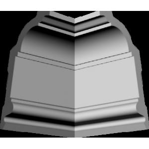 Уголки к потолочному плинтусу GP71