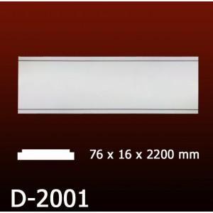 Дверной декор D2001(76*16*2200) OptimalDecor в г. Екатеринбург
