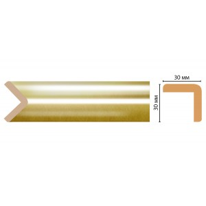 D134-374 ШК/28 угловой молдинг DECOMASTER(30*30*2400 мм)
