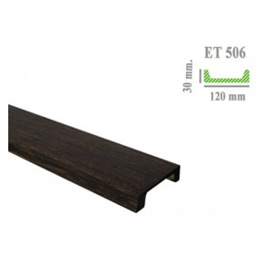 Доска под дерево ET 506 (3м) темная Classic