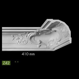 Гладкий потолочный профиль Z42 в г. Екатеринбург