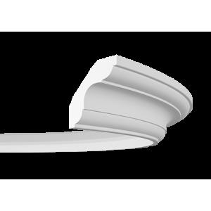 Плинтус потолочный гибкий без орнамента 1.50.294