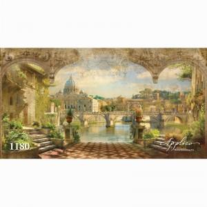 Фреска классический пейзаж фр1180