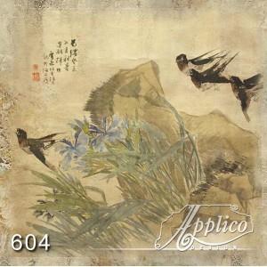 Фреска восток фр0604